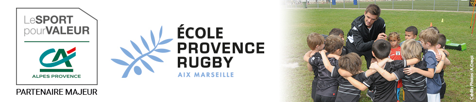 Bandeau - Ecole Provence Rugby