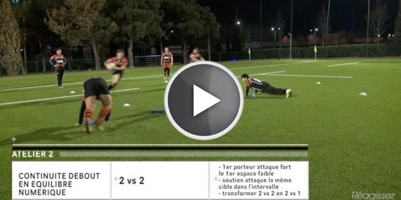 entraînement rugby