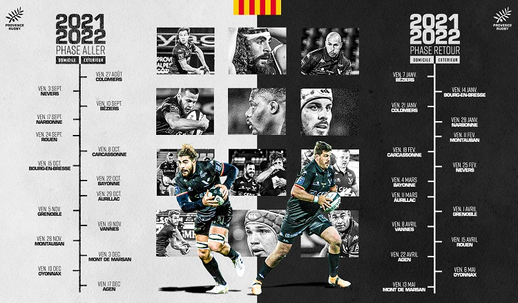 calendrier complet